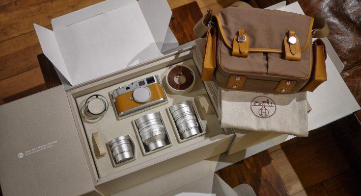 Leica M9-P Hermes Edition «Комплектация 2»: Leica Summicron-M 28 мм f/2 ASPH, Leica Noctilux-M 50 мм f/0.95 ASPH. и Leica APO-Summicron-M 90 мм f/2 ASPH.
