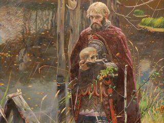 Картина «Александр Невский» (фрагмент), автор: Рыженко Павел Викторович.